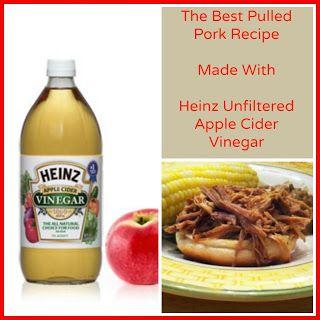 The best pulled pork recipe - made with @Heinz Vinegar! #sponsored
