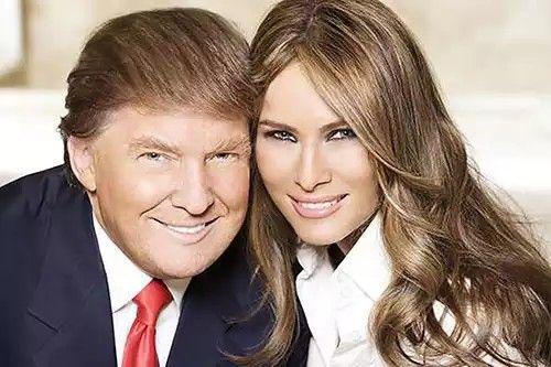 Donald & Melania Trump