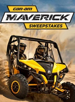 Win a Can-Am Off Road Vehicle    Enter here: http://free4him.ca/sweepstakes/win-a-can-am-off-road-vehicle/