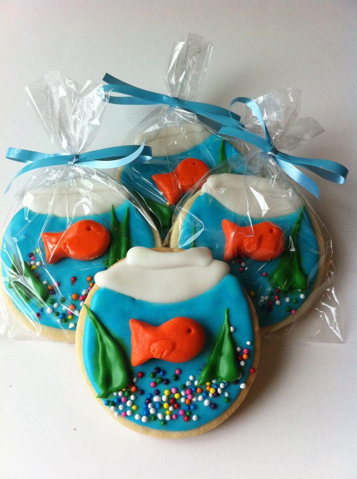 Fish Bowl Cookies