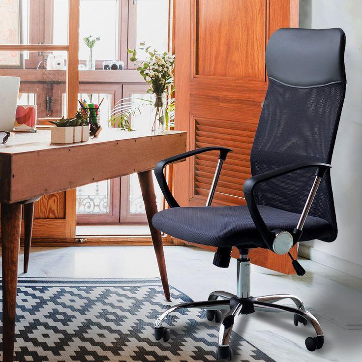 Ergonomic High-Back Mesh Office Chair