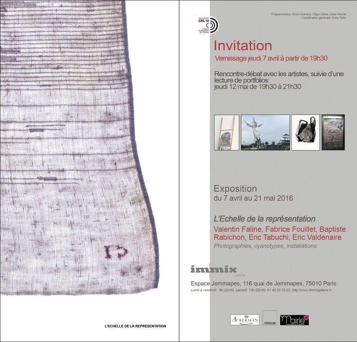 Immix Galerie | L'échelle de la représentation http://ericvaldenaire.com