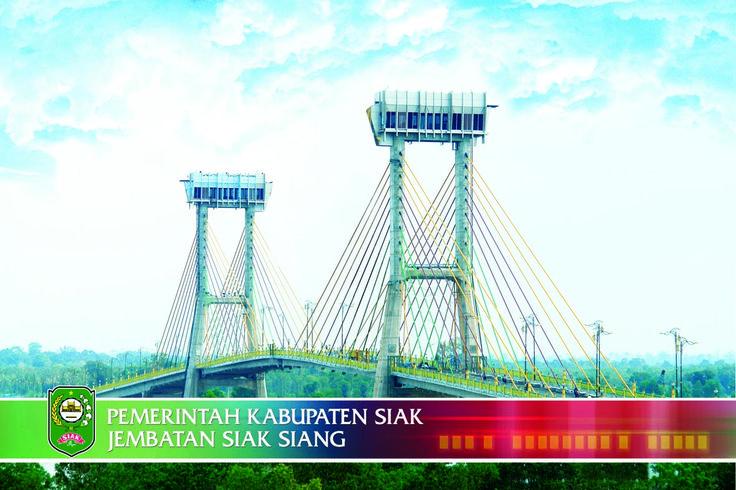 "Jembata ""Tengku Agung Sultanah Latifah"" Siak Sri Indrapura"