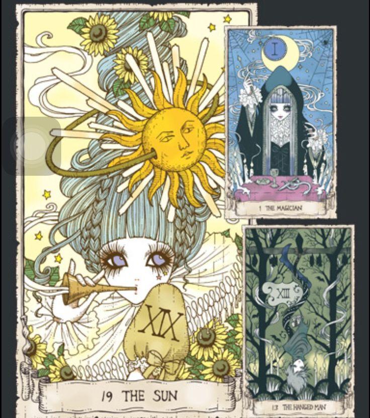 Tarot Cards   Yoh Gothic Lolita Bible Artist (⁎⁍̴ڡ⁍̴ ...