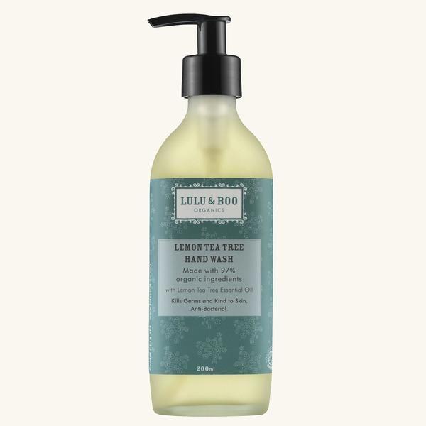Lemon Tea-Tree Hand Wash - Lulu & Boo Organics