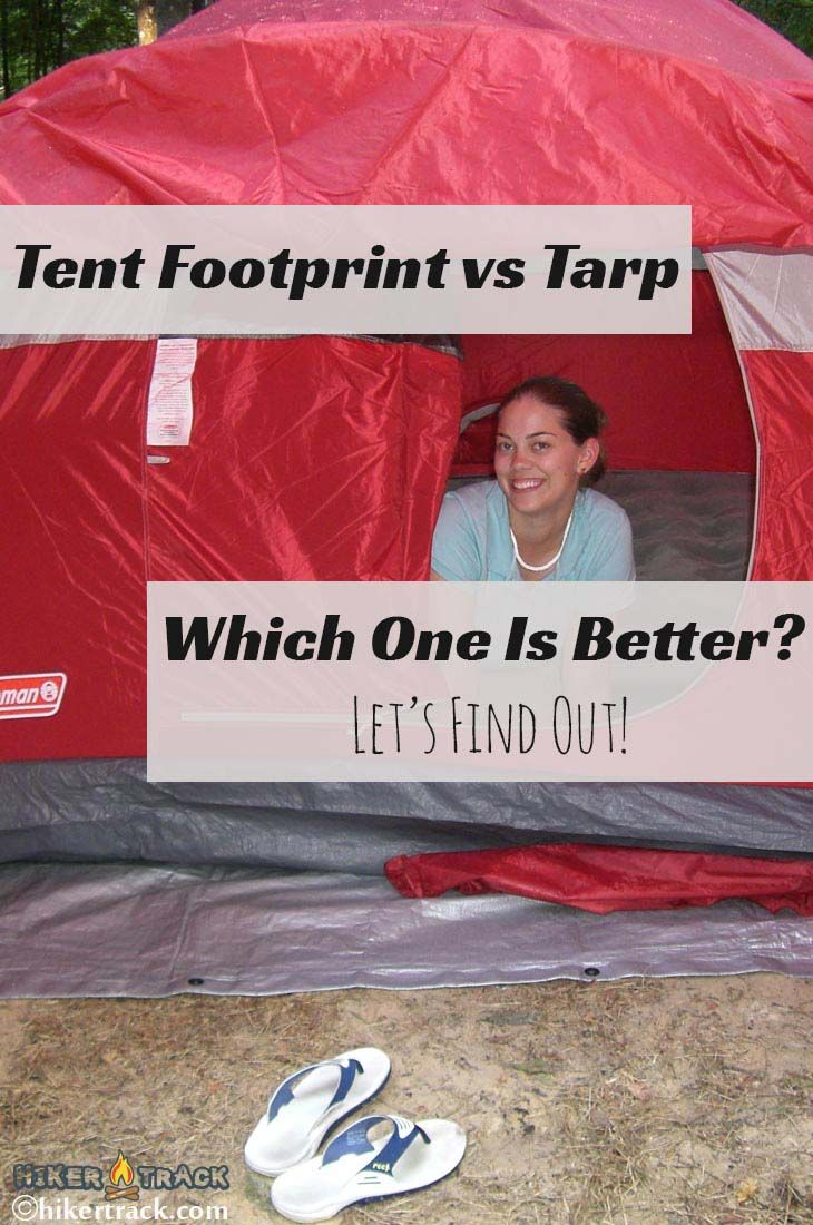 Tent footprints and tarps are essentially similar when you look at them. But which one is better for camping, tent footprint vs tarp? Let's find out!
