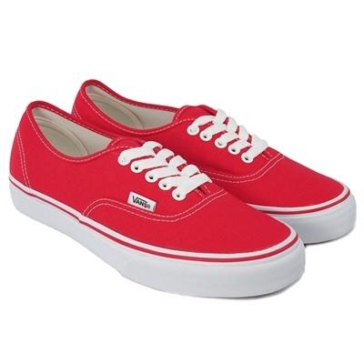 Vans Authentic - Red VN-0EE3RED - Mazeshop