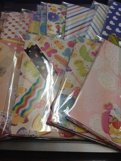 折り紙でミニ封筒の作り方