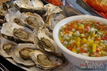 Receita de Marisco ao vinagrete em receitas de crustaceos, veja essa e outras receitas aqui!