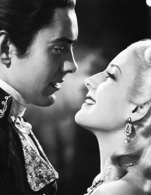 Norma Shearer and Tyrone Power in Marie Antoinette (1938)