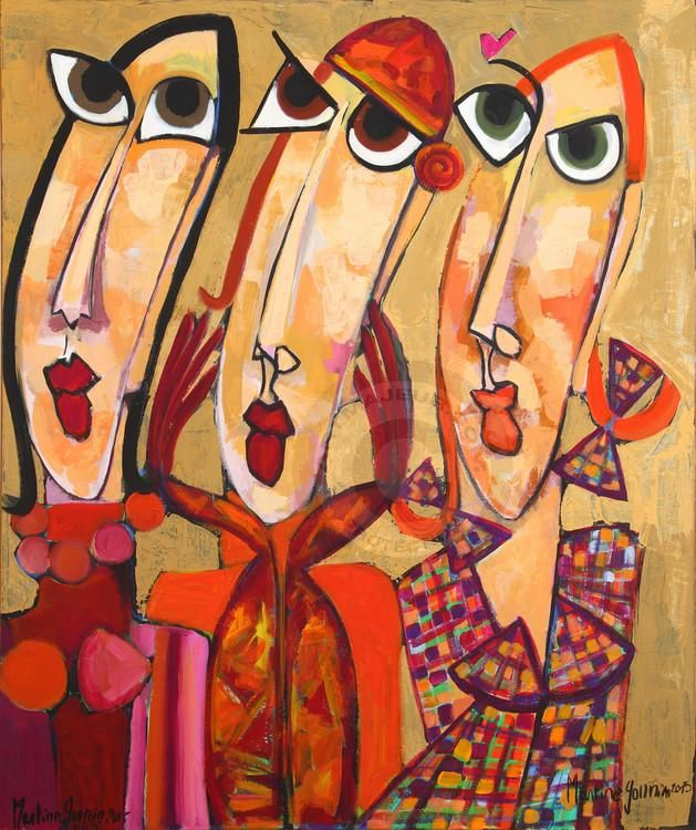 -Martine Gonnin- 'Les espiègles'