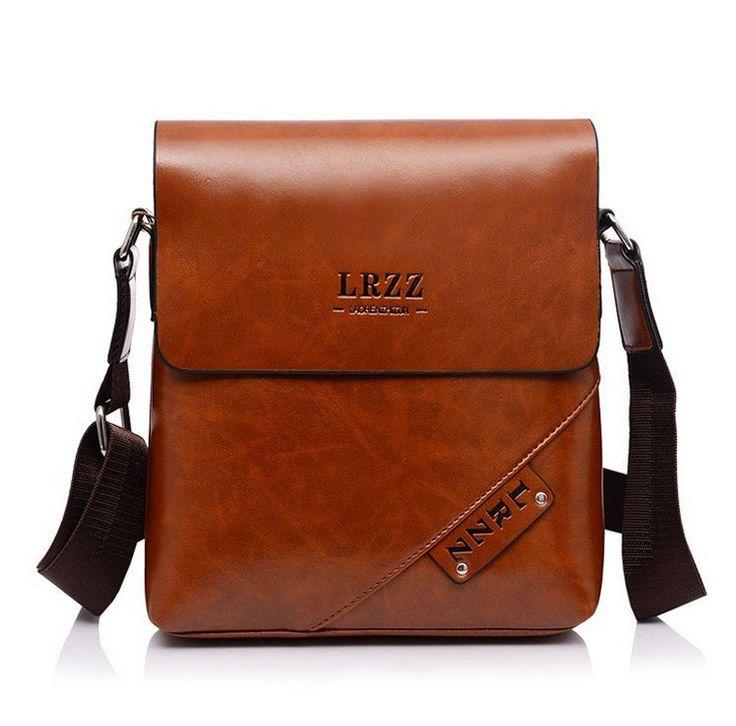 2016 luxury brand design men bag casual men messenger bags vintage Leather Men's business briefcase Crossbody shoulder bag bolsa