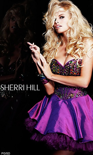 Short Strapless Sweetheart Babydoll Dress at PromGirl.com: Cocktails Dresses, Babydoll Dresses, Bridesmaid Dresses, Hill 2928, Dresses 2012, Prom Dress, Corsets Style, 2928 Prom, Sherri Hill Dresses