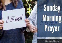 Sunday Morning Prayer