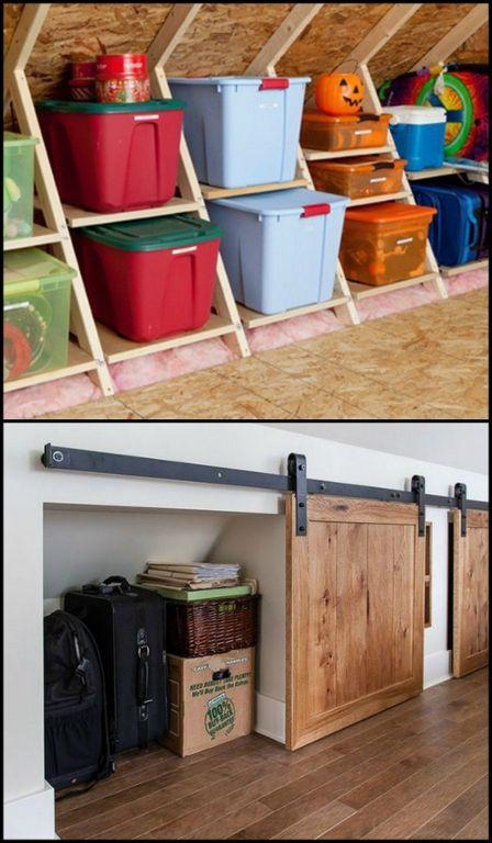 Renovation Ideas 25+ best attic renovation ideas on pinterest | attic storage