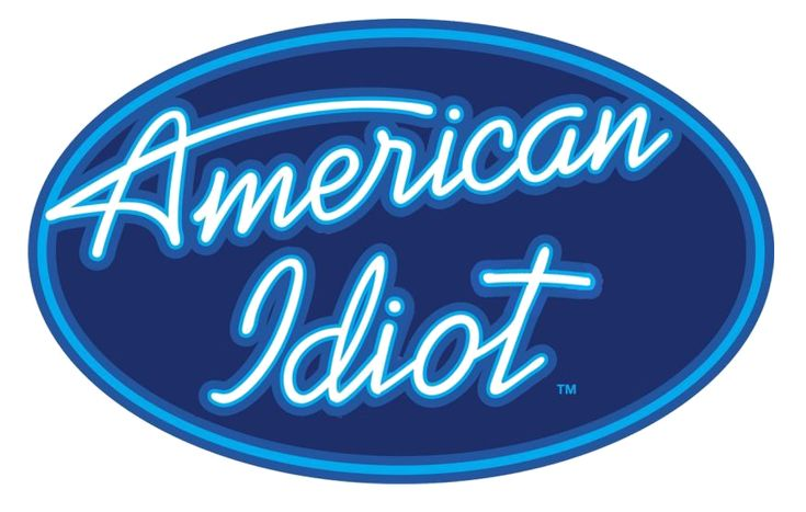 American idiot logo by ~Urbinator17 on deviantART