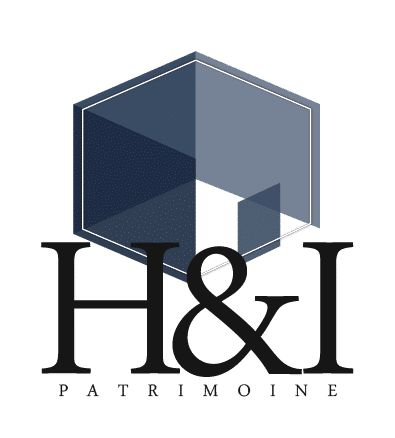 Création d'un logo pour la nouvelle agence immobilière poitevine H&I Patrimoine.