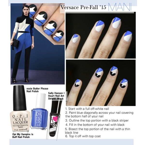 Versace Pre-Fall '15 Mani
