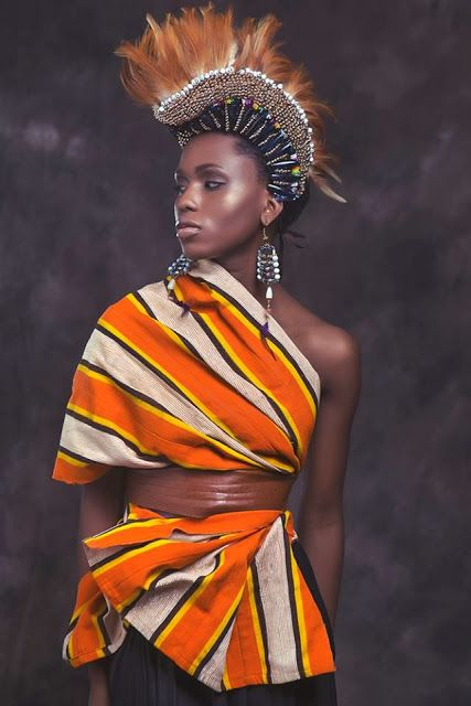 African Prints in Fashion: Breathtaking: Anita Quansah London SS14