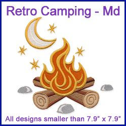 A Retro Camping Design Pack - Md