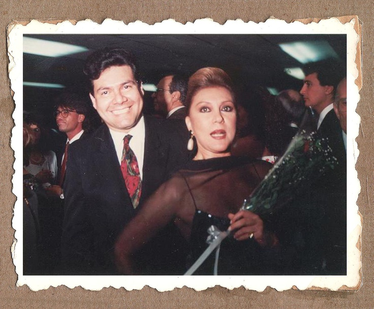 Carmen Victoria Perez y Victor Velasco hoy instalado en el gran miami