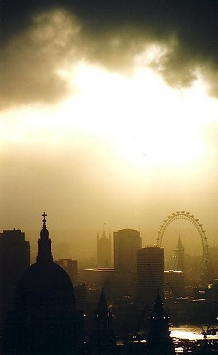 London - makes me proud to be English
