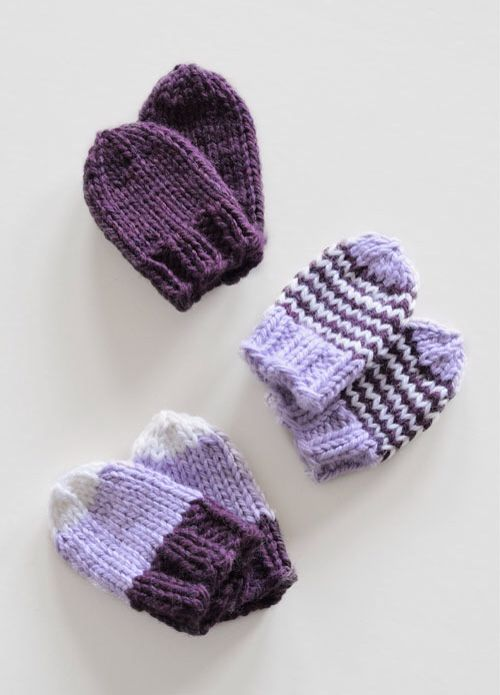 496 Best Baby Mittens Knitting And Crochet Patterns Images On