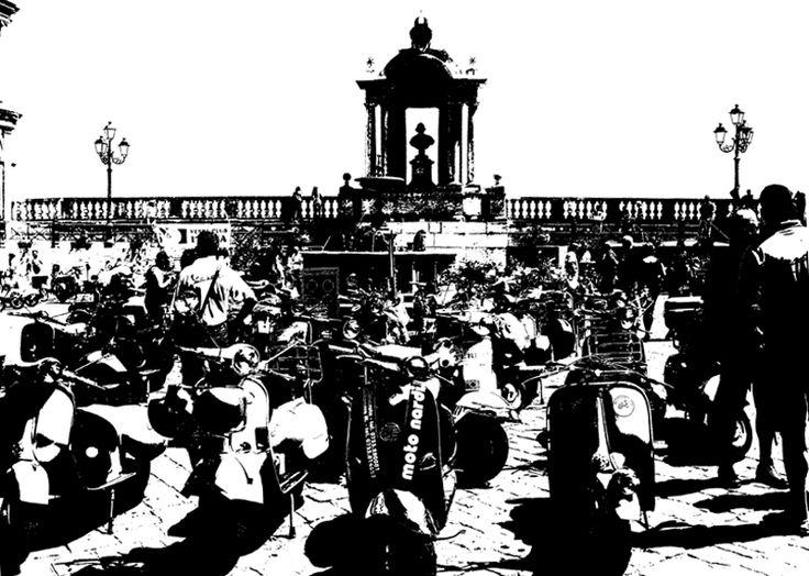 Raduno vespe Recanati-Treia 2010