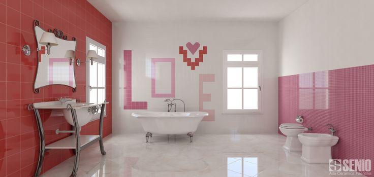 Tiles Love_ by i LACCATI CERAMICA SENIO_handmade in Italy