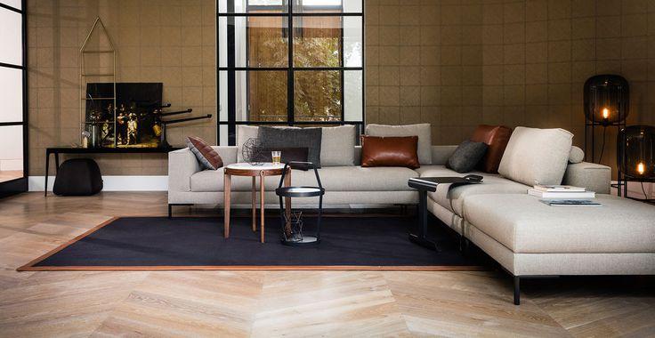 Aikon Lounge bank - hoekopstelling - Design on Stock. Ontwerper: Marike Andeweg.