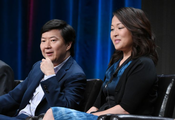 """Ken Jeong and Suzy Nakamura discuss their TV marriage on ABC's """"Dr. Ken,"""" while sharing memories of """"The Hangover"""" and """"Curb Your Enthusiasm."""""""