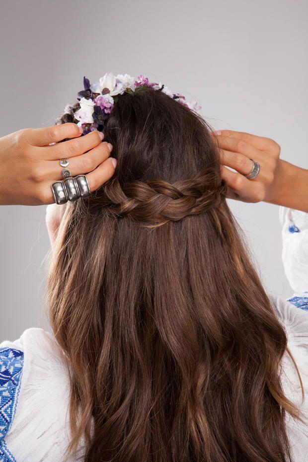 #DIY: #Flechtfrisuren mit Clip-In Hair-#Extensions