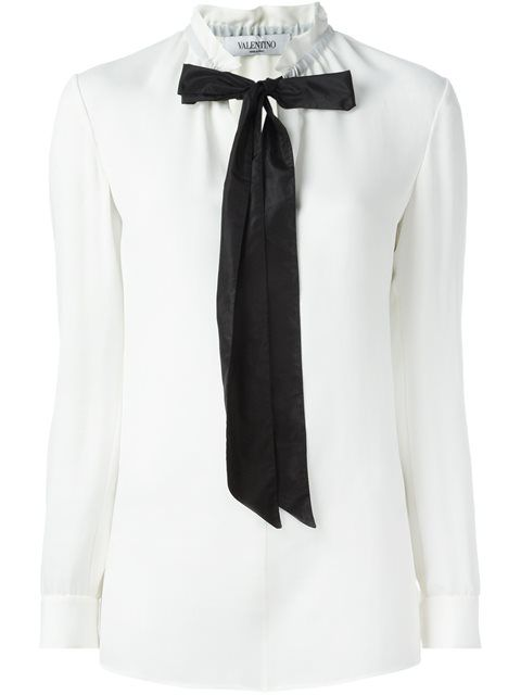 Shop Valentino pussy bow blouse in Tessabit from the world's best independent boutiques at farfetch.com. Shop 400 boutiques at one address.