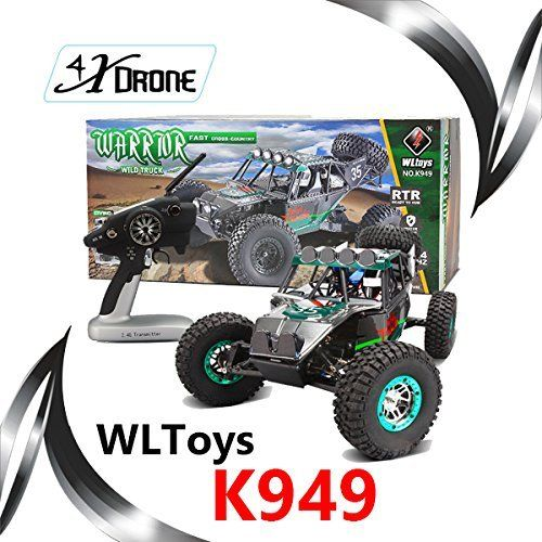 Special Offers - WLToys XK K949 2.4Ghz RC Remote Control Truck Dirt Drift Car 1/10 4WD 2.4G RC Climbing Short Course RTR VS A949 A959 A969 A979 - In stock & Free Shipping. You can save more money! Check It (April 03 2016 at 08:37PM) >> http://rchelicopterusa.net/wltoys-xk-k949-2-4ghz-rc-remote-control-truck-dirt-drift-car-110-4wd-2-4g-rc-climbing-short-course-rtr-vs-a949-a959-a969-a979/