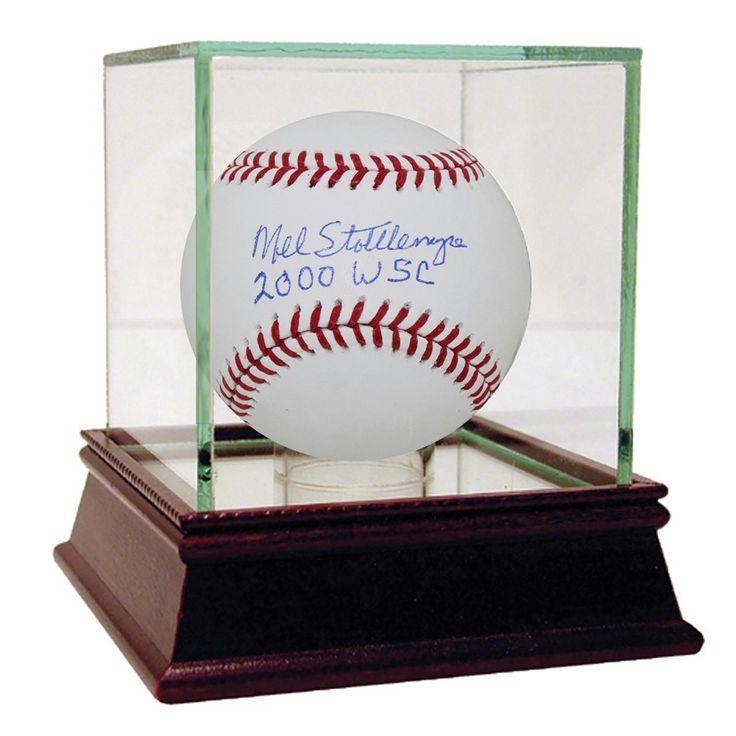 Mel Stottlemyre Signed 2000 World Series Baseball w 2000 WSC insc