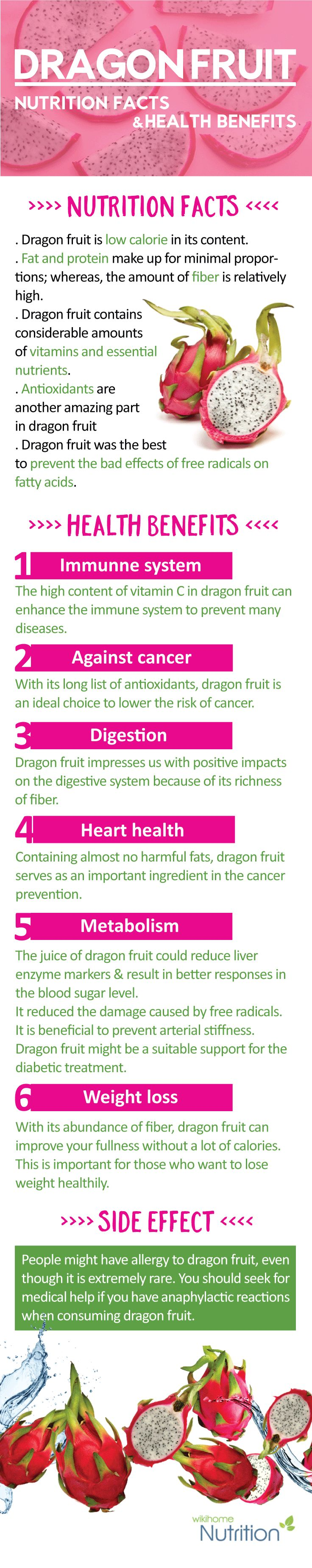 Dragon fruit is an extremely beautiful fruit that has dazzling flowers and an intense shape and color.