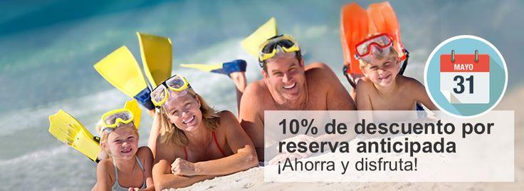 Reserva anticipada en Marina d'Or, hasta un 10% de descuento para reservas efectuadas antes del 31/05 y para estancias comprendidas entre el 24/06 y el 10/09 VISTO EN: Ofertas – Reserva anticipada + CONSEJOS PARA VIAJEROSBarceló Monasterio de BoltañaBarceló Ponent PlayaBarceló Tambor BeachHotel Naranjo De BulnesBarceló Pueblo IbizaH10 Racó Del PiEdit Related PostsZemanta
