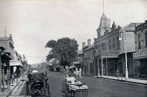 Church Street. Taken circa 1905. Pietermaritzburg, Natal
