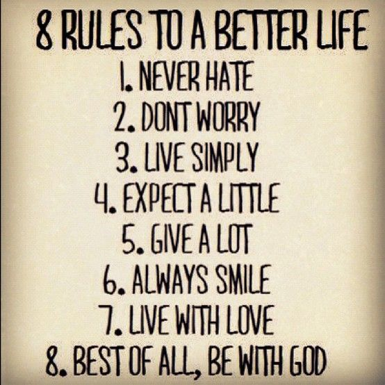 Life Quotes, God, Life Rules, Simple Rules, Better Life, So True, Living, Inspiration Quotes, The Rules