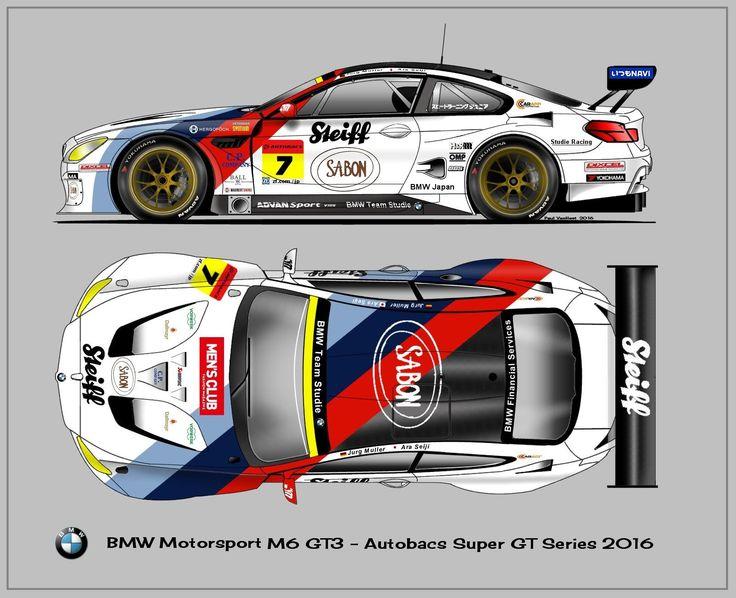 BMW M6 GT3 Team Studie