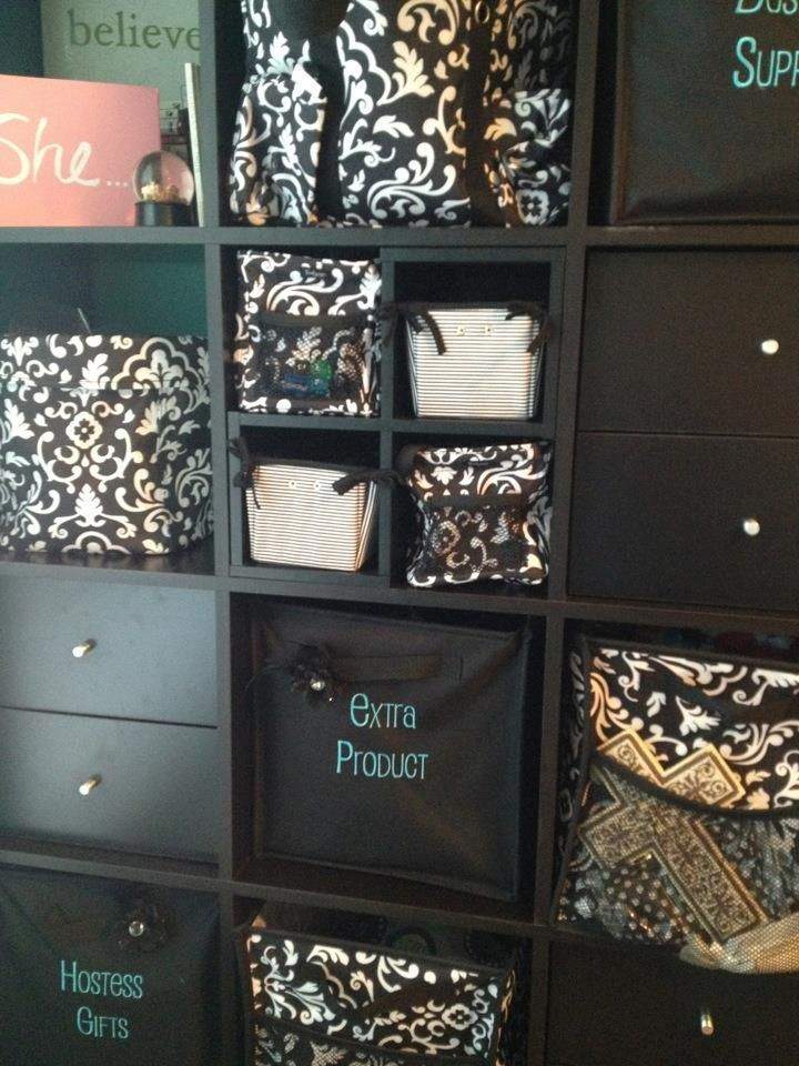 Office Organization thanks to Thirty One