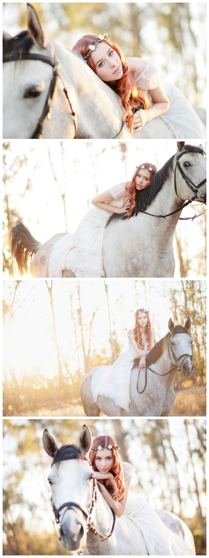 Bree and Her Horse {Bridal Inspired} - Erica Houck Photography