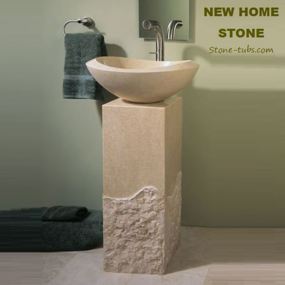 freestanding bathroom sinks - Google Search