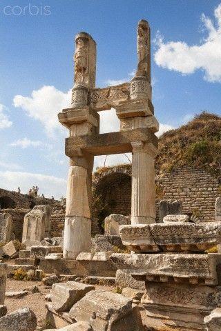Temple of Domitian, Ephesus, Turkey