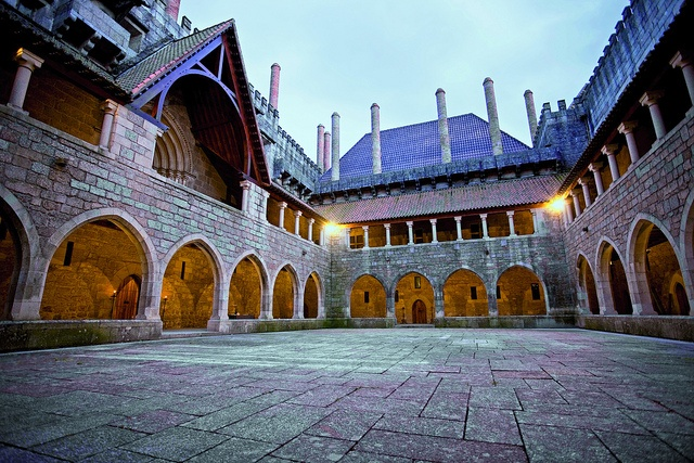 Duques de Bragança Palace – Guimarães by Porto Convention and Visitors Bureau, via Flickr, Portugal