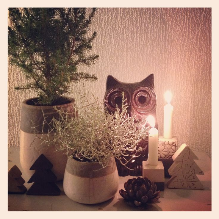 Julepynt 2012 med keramik fra LoPe design