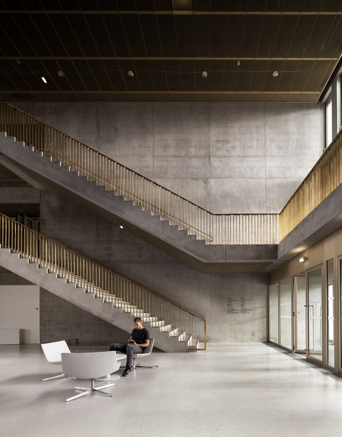 David Chipperfield / new gateway building at HEC School of Management - Google Search