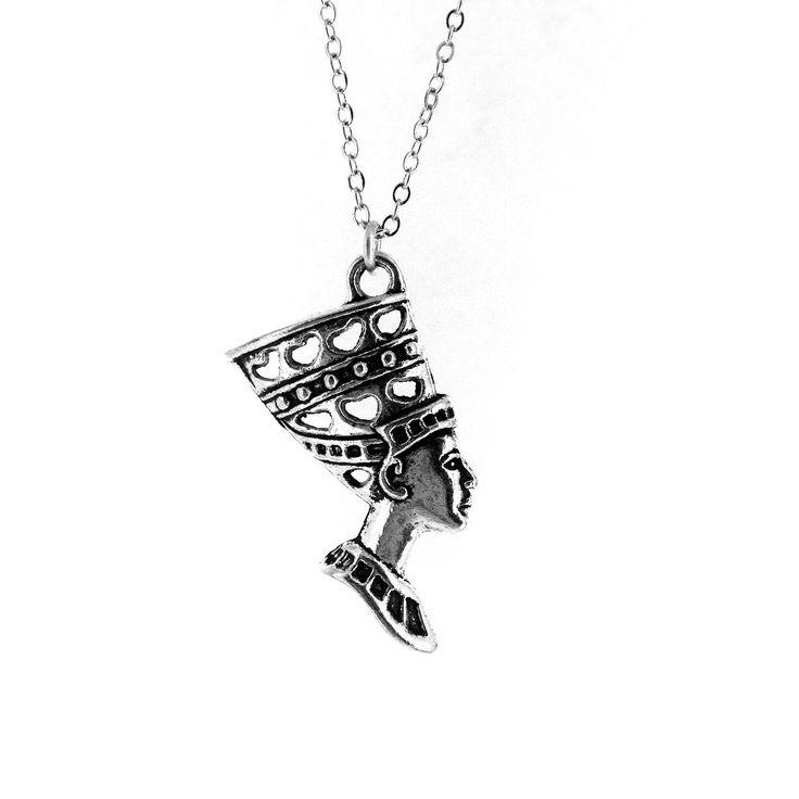 Nefertiti Necklace Sil: Amazon.co.uk: Jewellery