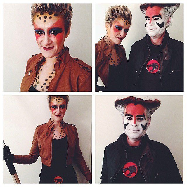 Thundercats costume for power couples on Halloween night