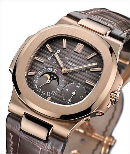 Patek Philippe | Nautilus Moon Phase Stainless Steel Watch 5712/1A-001